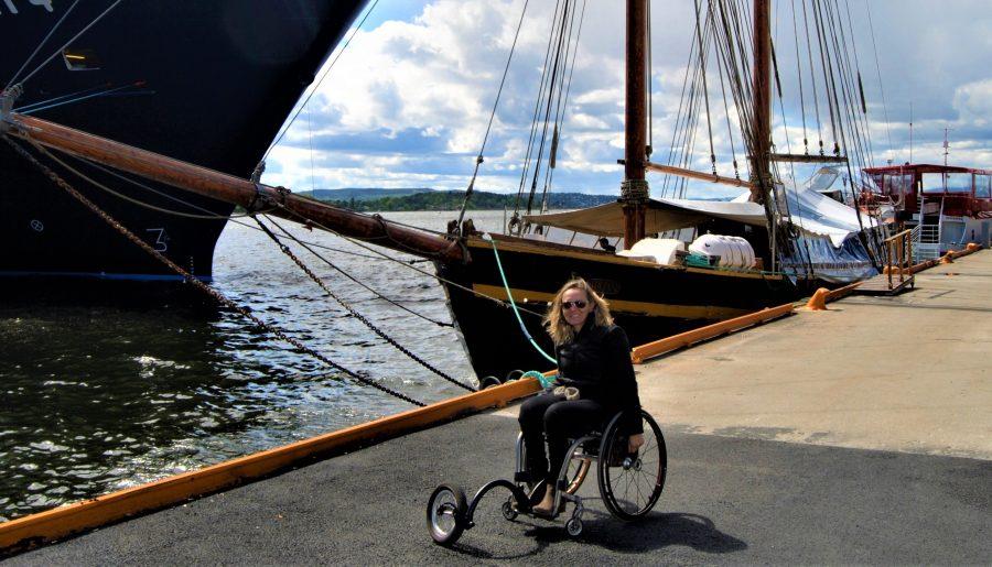 Pela Escandinávia em cadeira de rodas